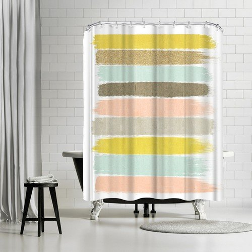 """Americanflat Madison Shower Curtain by Charlotte Winter, 74"""" x 71"""" x 0.1"""" from Americanflat"""