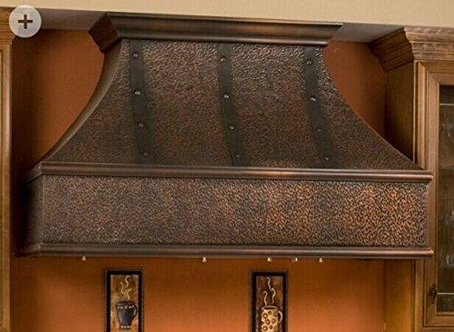 Mcm3 Wall Mounted Copper Range Hood 36 Quot L X 24 Quot W Front