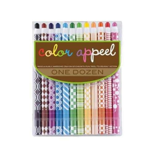 OOLY, Color Appeel Crayon Sticks, Set of 12 (133-55) Not Available International Arrivals Novelty Non-Classifiable