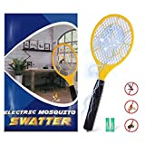Bug zapper- Electric Fly Swatter ,handheld Insect Fly Killer, Mosquito Zapper against Flies,Bugs,Bees and Other...