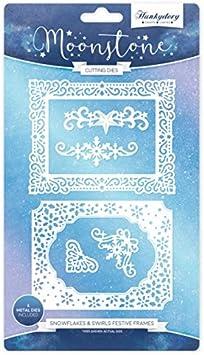 Moonstone Combo Stamp /& Die Set Celebrate Hunkydory