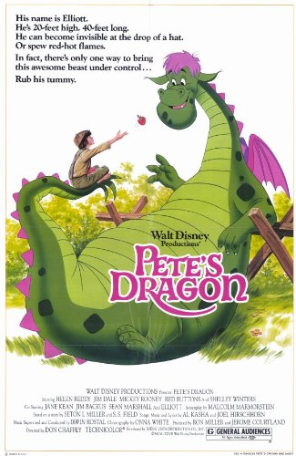 Pete's Dragon Poster Movie MasterPoster Print