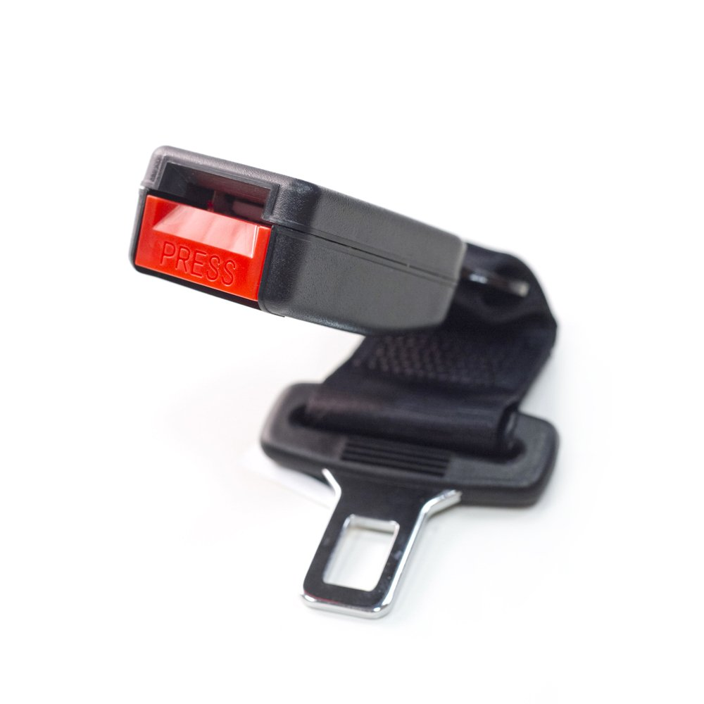 Buckle Up to Drive Safely - E-Mark Safe Certificate Tongue Width: 7//8 Inches 3 x Seat Belt Extender Adds 7