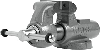 """product image for Machinist 4"""" Jaw Round Channel Vise with Stationary Base, 28836"""