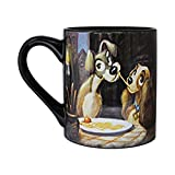 Official Licensed Disney Lady & The Tramp Ceramic Coffee Mug 14 Oz