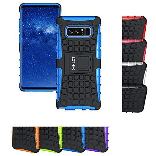 Price comparison product image Galaxy Note 8 Stand Case, HLCT Dual Layer Shockproof Case with Built in Kickstand for Samsung Galaxy Note 8