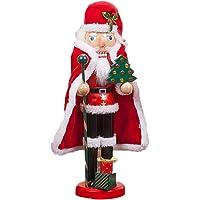 mementoy Cascanueces Madera Navidad,Santa, Cocinero, Soldado,Decoración Interior De