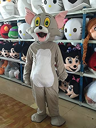 TOM Cat Unisex Mascot Costumes Free shipping