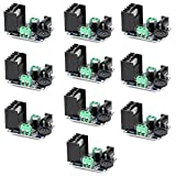 Optimus Electric 10pcs TDA7297 15W Each Dual Channel Audio Power Amplifier Module 6V to 18V for Sound Amplifying Speakers from