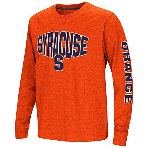 Colosseum Syracuse University Youth Long Sleeve Tee Spike L/S Tee (YTH (6-7)) (Mascot University Syracuse)