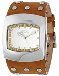 EOS New York Unisex 47LTAN Helix Tan Leather Strap Watch