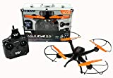 Braha Skydrones Eagle Eye 2.0 - Live Streaming HD Drone in Aluminum Carrying Case with Auto Hover, Takeoff, and Landing