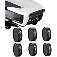 Owill 6Pieces Set Light Weight ND4 ND8 ND16 ND32 STAR CPL Waterproof Camera Lens Filters For DJI Mavic Air Drone,(Multi Layers of Coating Film) (Black)