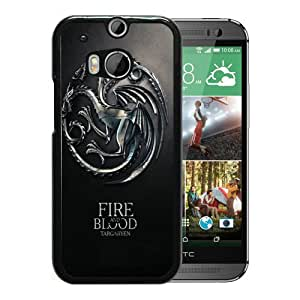 Game Of Thrones Fire And Blood Targaryen House iPhone 5 Wallpaper Black HTC ONE M8 Case Sale Online