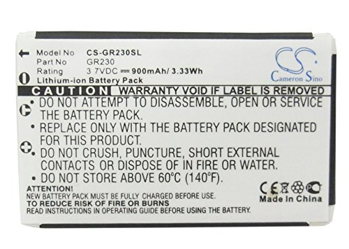 Cameron sino Li-ion 3.70V 900mAh/3.33 Wh Replacement Battery for Belkin 300-203712001,fits Belkin Bluetooth GPS Receiver Holux GR-230 GPS Receiver GR-231 GPS Receiver SocketmobileCommunications ()