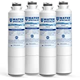 Waterspecialist DA29-00020B Refrigerator Water Filter, Replacement for Samsung HAF-CIN, HAF-CIN/EXP, DA29-00020A/B, DA97-08006A, RF28HMEDBSR, RF4287HARS, RF263TEAESG, RH22H9010SR (Pack of 4)