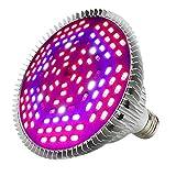 80W Grow Light Bulb Full Spectrum, Plant Lights LED Grow Light for Indoor Plants, Grow Lamp for Veg and Flower