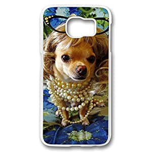 JHFHGVH Case for Samsung galaxy S6 PC, Funny Dog Plastic Ultra Flexible Hard Protective Skin New Premium Fancy Fashion Slim Case for Samsung galaxy S6 PC