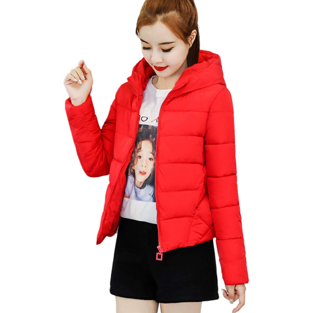 c3b66470b96 Amazon.com  AIMTOPPY Winter Women s Short Section Thick Slim Large Fur  Collar Warm Jacket  Computers   Accessories