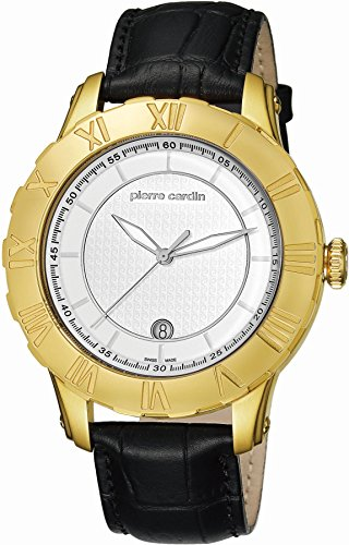 pierre-cardin-mens-quartz-watch-analogue-display-and-leather-strap-dial-color-silver