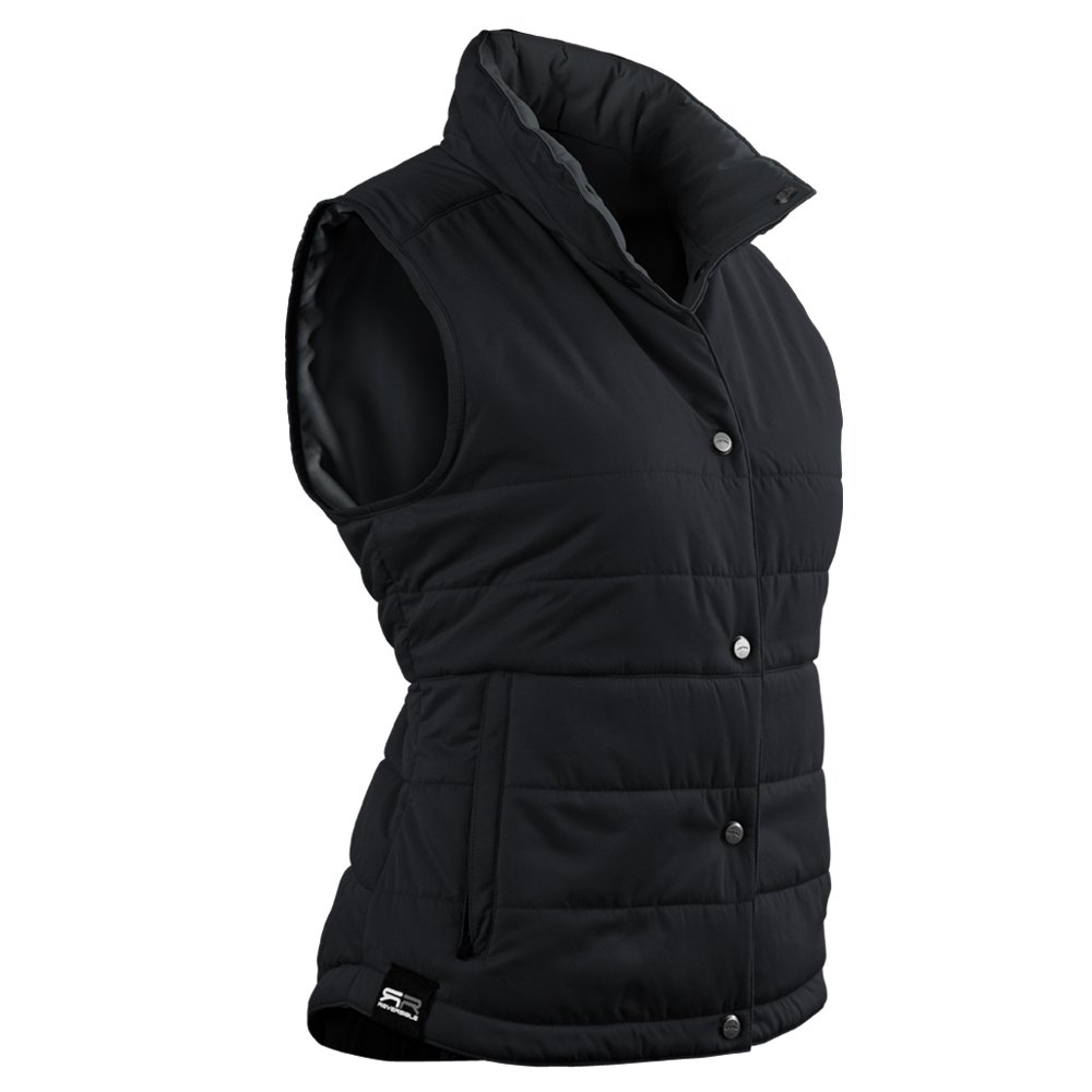 Sun Mountain Alpine Golf Vest 2016 Ladies Black/Steel Medium