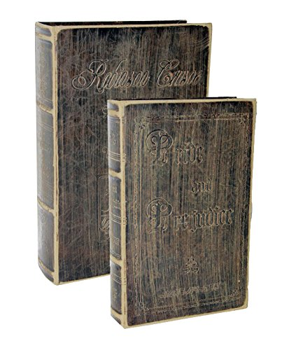 [Faux Antique Book Box Set (Brown)] (Disneyland Haunted Mansion Costume)