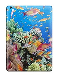 Awesome Fish For Walls Flip Case With Fashion Design For Ipad Air