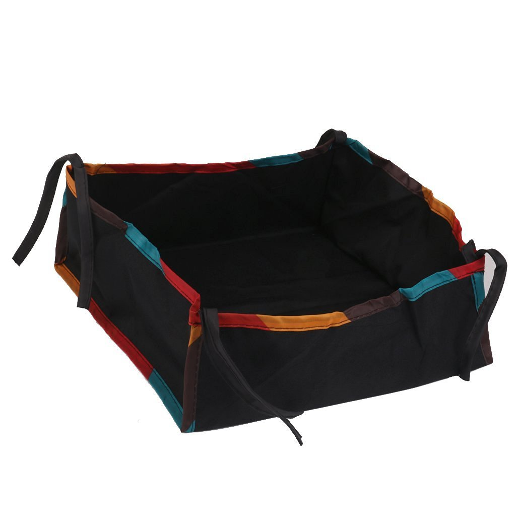 amyjazz Oxford Fabric Stroller Buggy Pushchair Bottom Organiser Bag 29 x 29 x 11cm