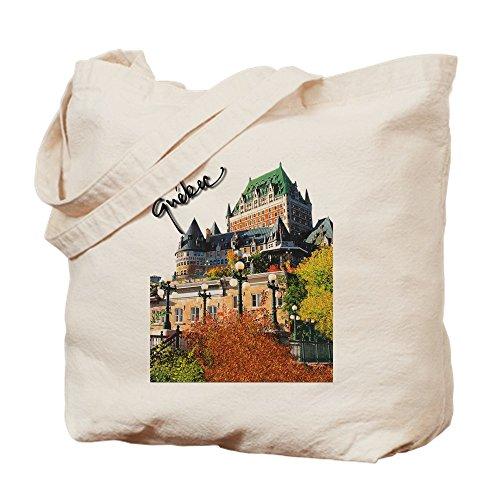 CafePress Frontenac Castle Quebec Signa Natural Canvas Tote Bag, Cloth Shopping -