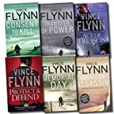 Mitch Rapp Collection Vince Flynn 6 Books Set