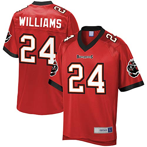 Men's_Cadillac_Williams_Red_Retired_Player_Jersey ()