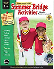 Summer Bridge Activities - Grades 1 - 2, Workbook for Summer Learning Loss, Math, Reading, Writing and More wi