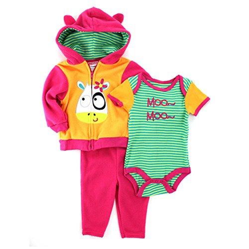 Nuby piece Outfit Fleece Hoodie
