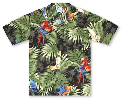 RJC Boys Jungle Tropics Hawaiian Shirt by RJC