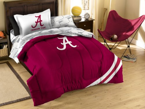 NCAA Twin Bedding Applique Comforter