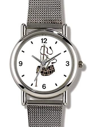 ad3d9b86ca33 Scottish Bagpipes or Bag Pipes - Musical Instrument - Music Theme -  WATCHBUDDY ELITE Chrome-