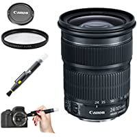 Canon EF 24-105mm f/3.5-5.6 IS STM Lens for Canon EOS 5D Mark III, 6D, Full Frame DSLR Cameras - International Version (White Box)
