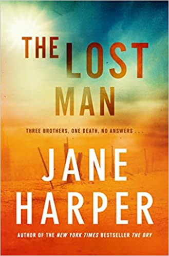 Cover art for the book entitled The Lost Man