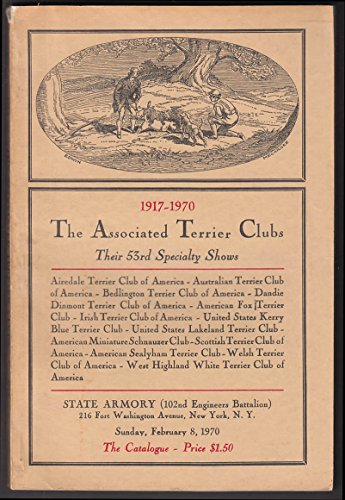 Associated Terrier Clubs Specialty Dog Show Program NYC 1970 (Terrier Club)