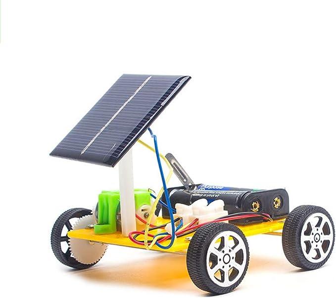 Elektrische auto voor kinderen op zonne energie, educatief