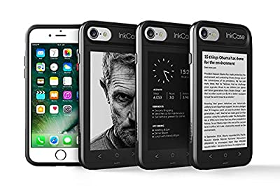 """Oaxis Inkcase i7, 4.3"""" E Ink eReader for iPhone 7, Unique Smart Bluetooth Second Screen Case for iPhone 7 with Drop resistant , eBook / News / Pocket / Note by Oaxis"""