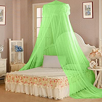Floralby Princess Bed Net Canopy Bedding Decor Sweet Style Round Dome Mosquito Net
