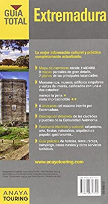 Extremadura (Guía Total - España): Amazon.es: Anaya Touring, Ramos Campos, Alfredo, Llorente, Santiago, Izquierdo Abad, Pascual: Libros