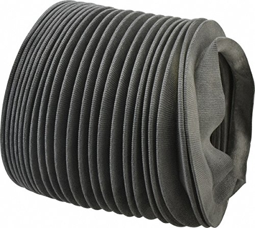 63415855 Made in USA - 24 Inch Long, 0.04 Inch Thick, Nylon Airtight Molded Bellow Thick Nylon Coupler