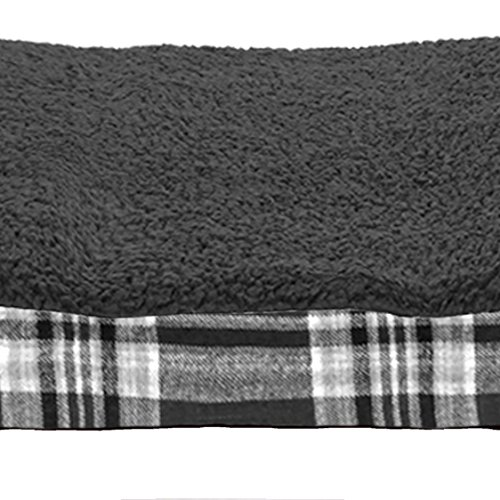 FurHaven Pet Dog Bed | Deluxe Orthopedic Plaid Mattress Pet
