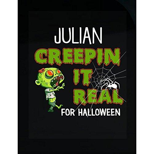 Prints Express Julian Creepin It Real Funny Halloween Costume Gift - Sticker -