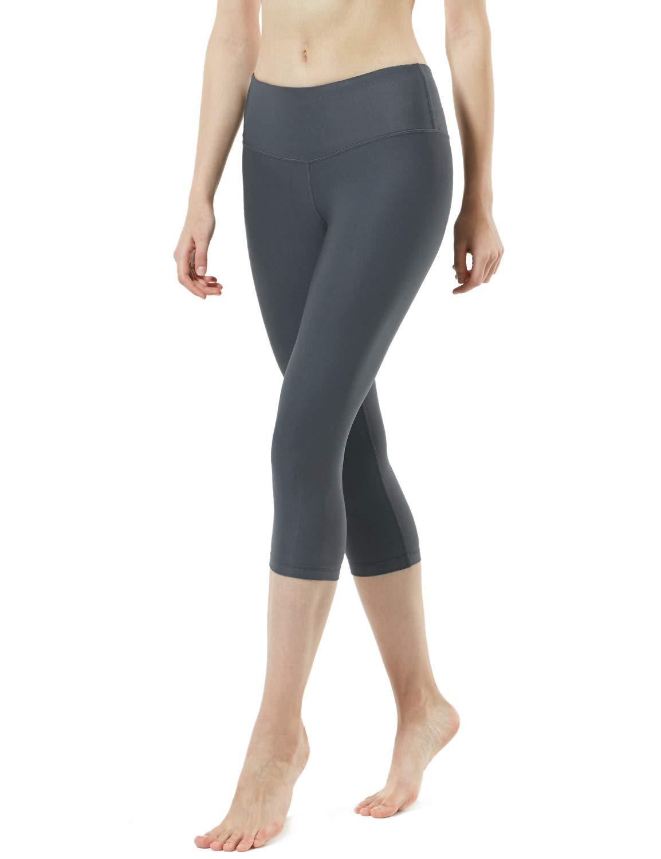 TSLA Yoga 17 Inches Capri Mid-Waist Pants w
