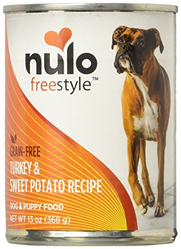 Nulo Freestyle Turkey & Sweet Potato Recipe Can Dog, 12/13 oz