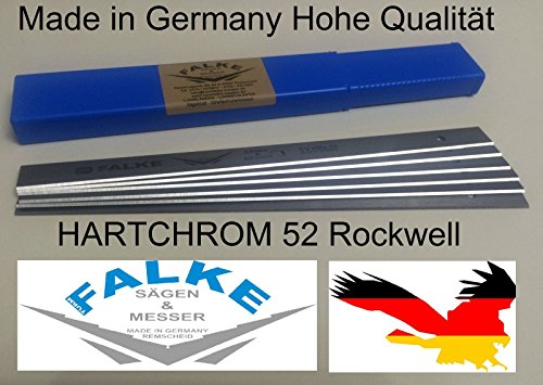 6 Stück Elektra Beckum HC260M HC260C/K Hobelmesser Einweghobelmesser Wendemesser
