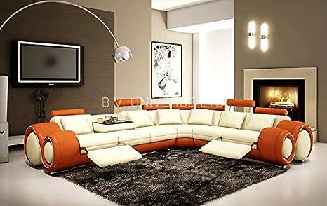 Amazon.com: Sala de estar sofá muebles con moderno esquina ...